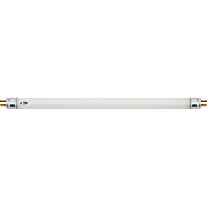 Лампа люминесцентная двухцокольная, 8W  T4 G5 6400K, EST13