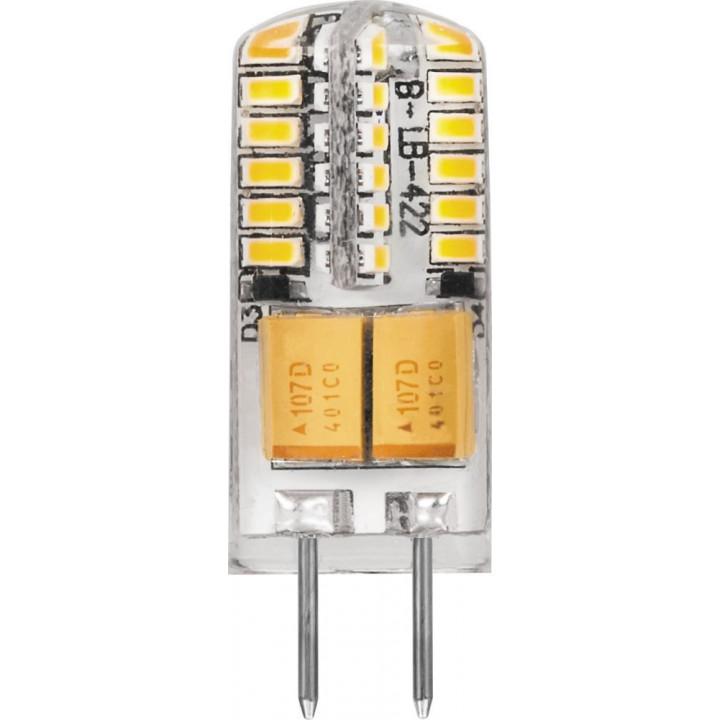 Лампа светодиодная, (3W) 12V G4 2700K, LB-422