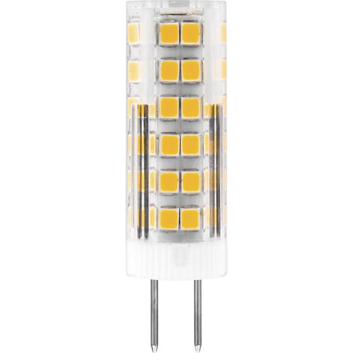 Лампа светодиодная, (7W) 230V G4 4000K, LB-433