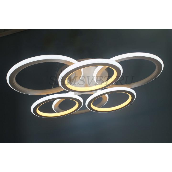 Люстра 2011/3+3 LED