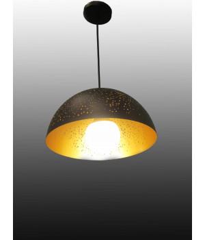 Светильник Лофт золото черный одноламповый