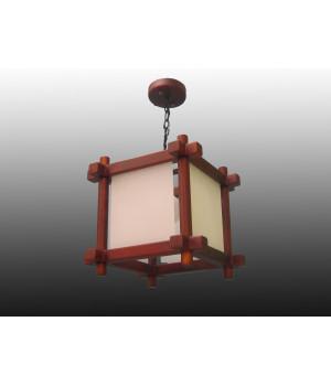 Японский подвес куб деревянный